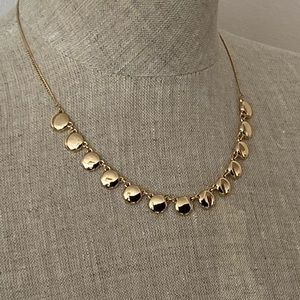 Express Gold tone necklace